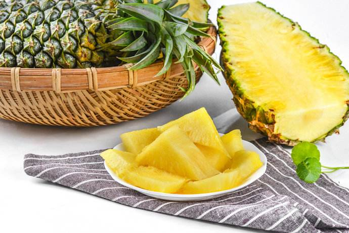 海南台农17号凤梨 2只装 单果1kg菠萝 国产热带水果 新鲜水果